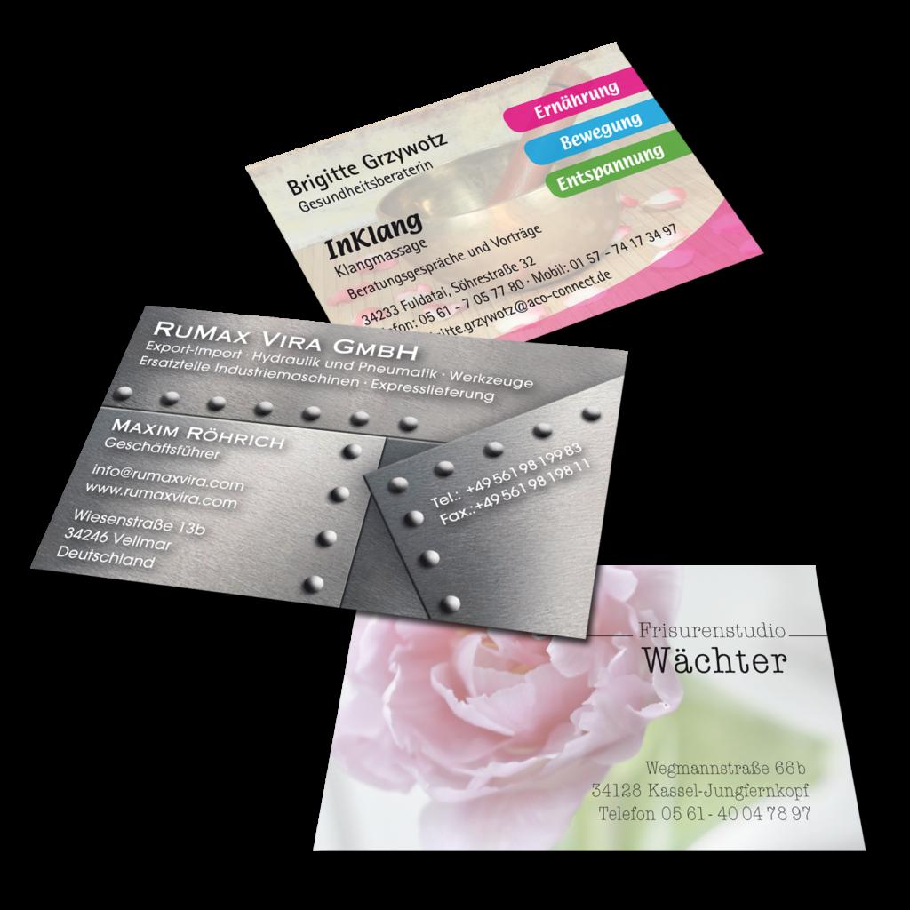 Visitenkarten Drucken Lassen In Ihrer Druckerei Bei Kassel